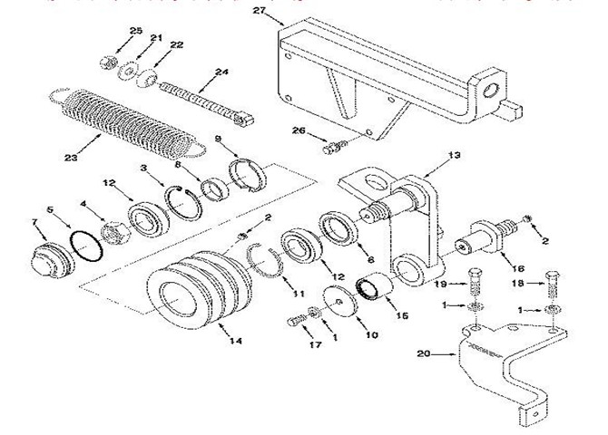 Apply To Cummins Parts 3925697 Nc Bracketbelt Tensioner Industry